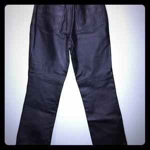 Newport News women's leather pants size 8